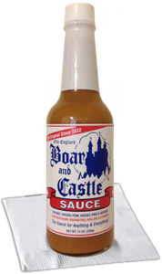 Boar and Castle® sauce.