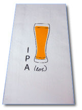 """IPA Lot"" Bar Towel"