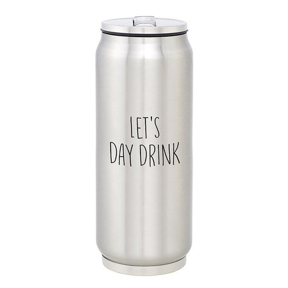 Sips, Stainless Steel Can - Let's Day Drink