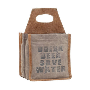 """Save Water"" Beer Caddy"