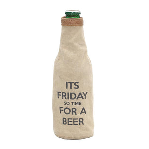 """Its Friday"" Bottle Koozie"
