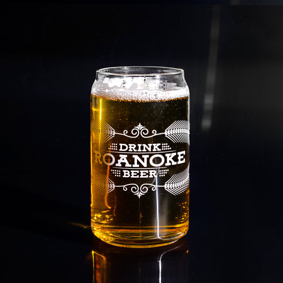 Drink Roanoke Pint Glass