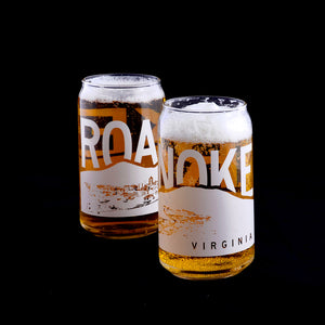 Roanoke Mountains Pint Glass