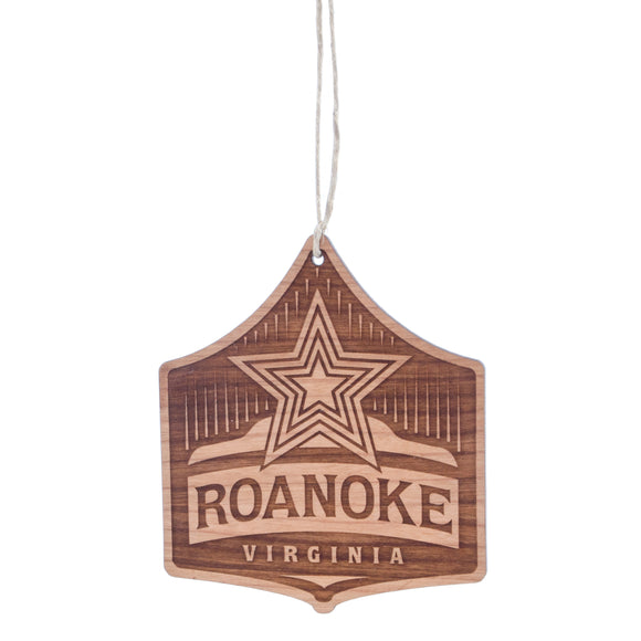 Roanoke with Roanoke Star Ornament