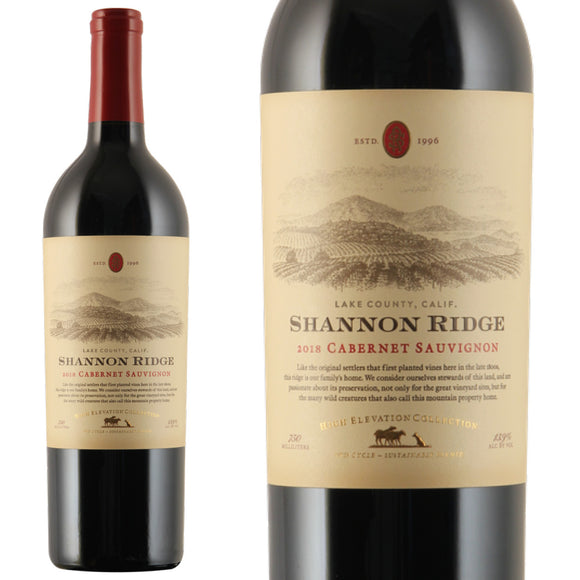 Shannon Ridge, High Elevation Cabernet Sauvignon