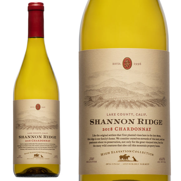 Shannon Ridge, High Elevation Chardonnay