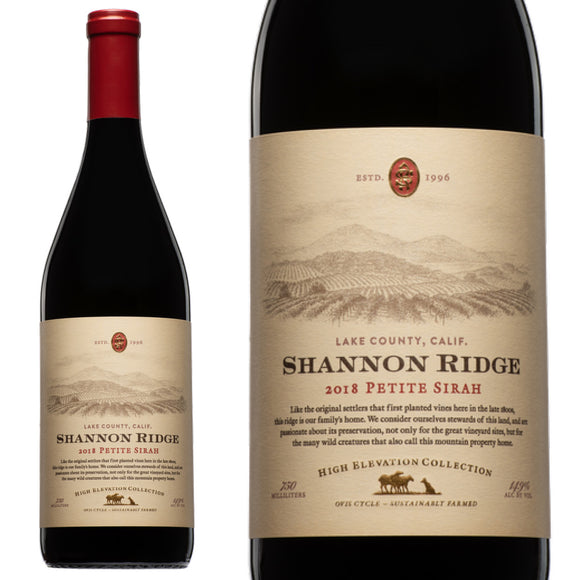 Shannon Ridge, High Elevation Petite Sirah