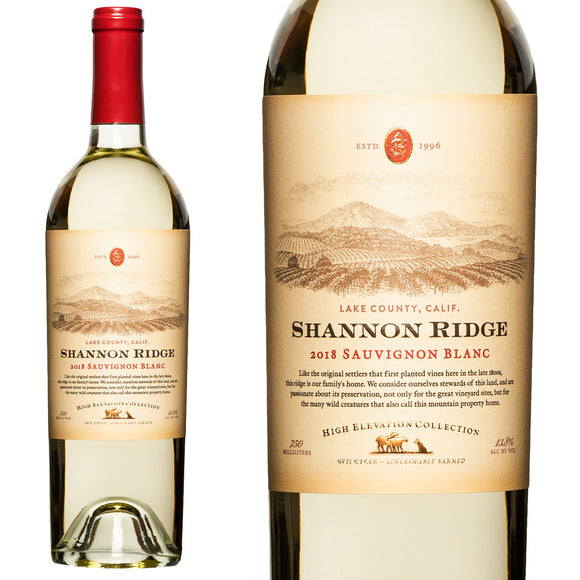 Shannon Ridge, High Elevation Sauvignon Blanc