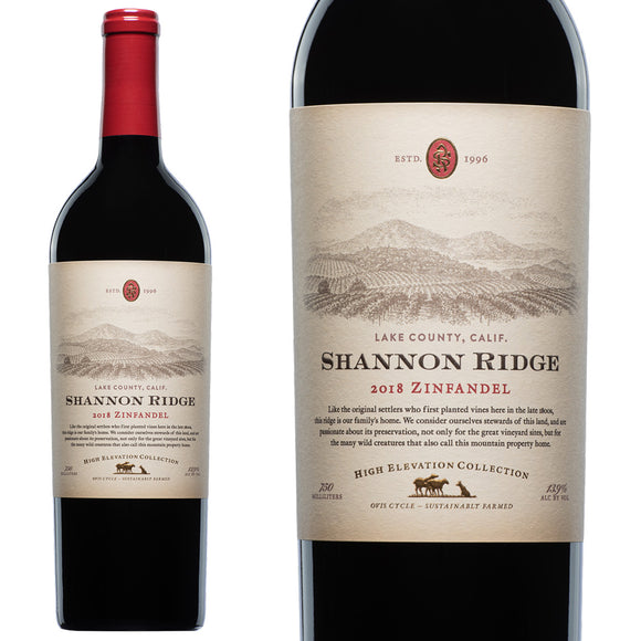 Shannon Ridge, High Elevation Zinfandel