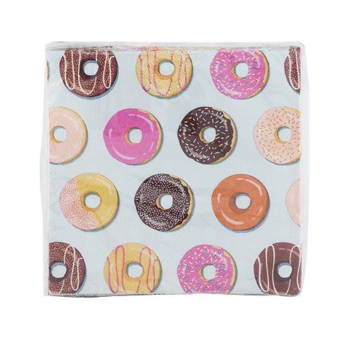 Donut Cocktail Napkin