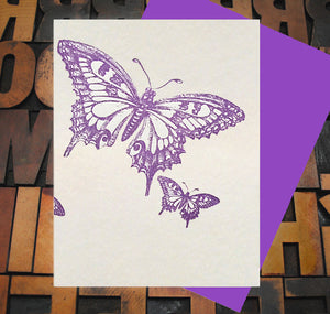Card, Butterfly