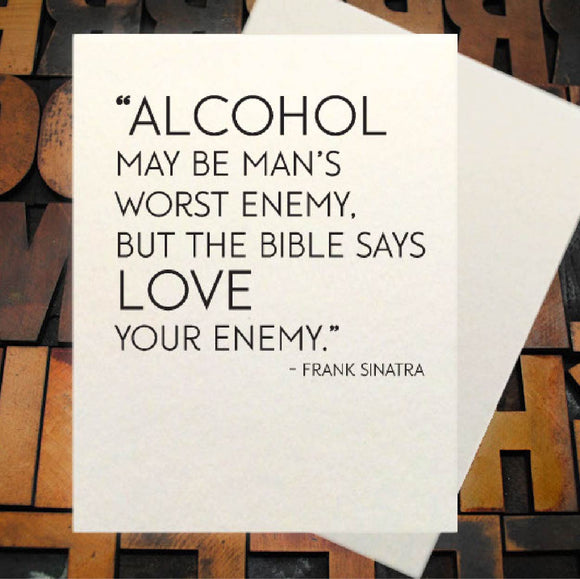 Card, Alcohol Bible