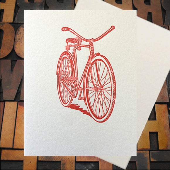 Card, Beach Bike