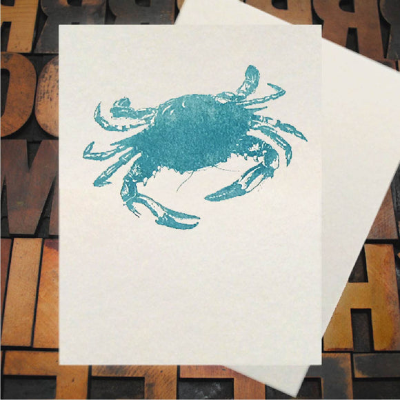 Card, Blue Crab