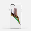 Image of Bird, James Bird photograph on an iPhone 7 Plus phone cover.
