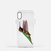 Image of Bird, James Bird photograph printed on an iPhone X case.