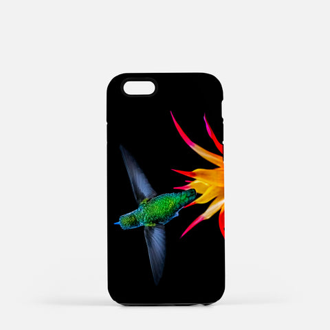 Burst Of Color photograph on an iPhone 8 phone cover.