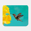 Image of Daffodil photograph printed on a rectangular mouse pad.