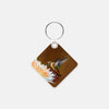 Image of Dreamsicle photograph printed on a square key chain.