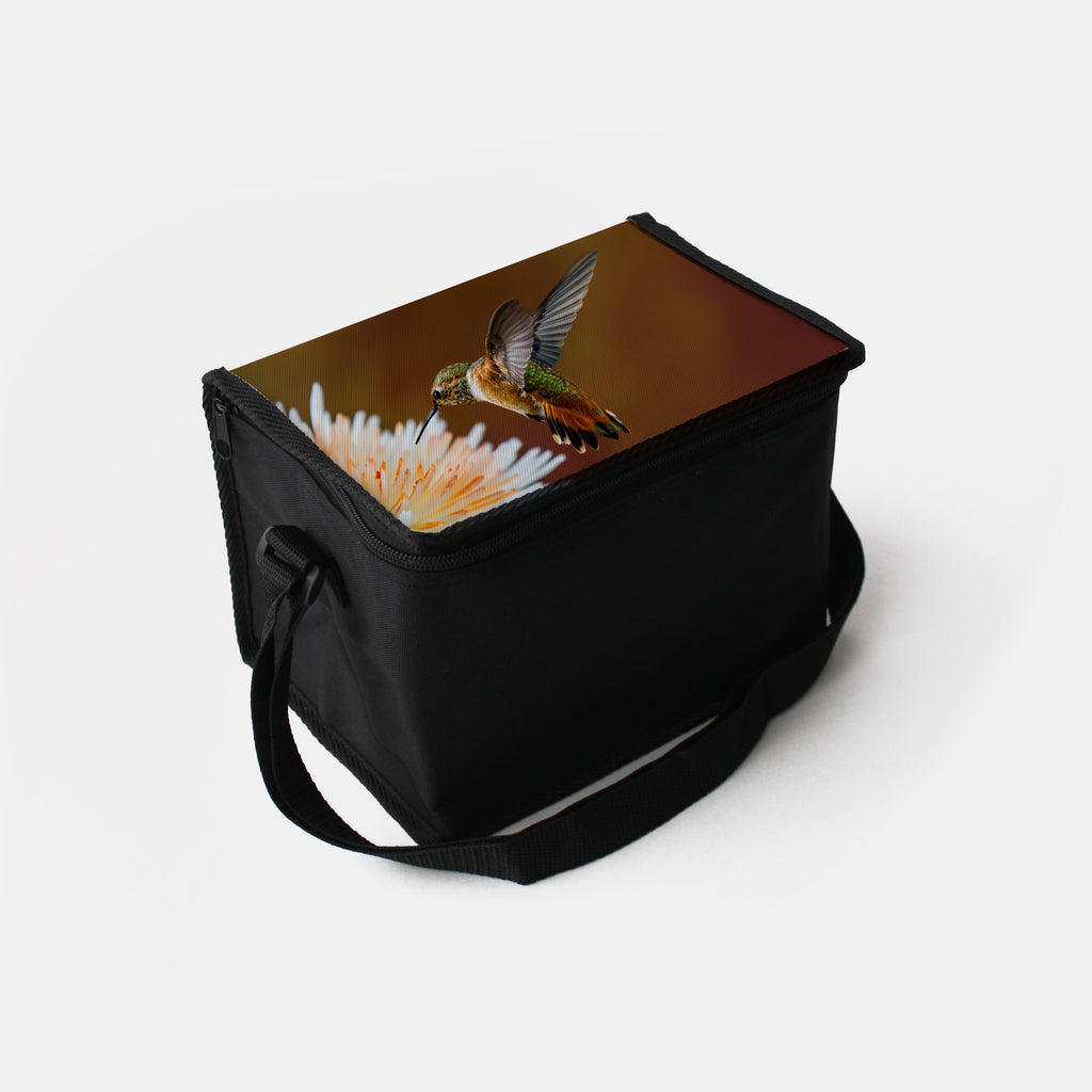 Dreamsicle photograph printed on a lunch box.