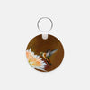 Image of Dreamsicle photograph printed on a round key chain.