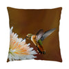 "Image of Dreamsicle photograph on a 16"" square pillow."