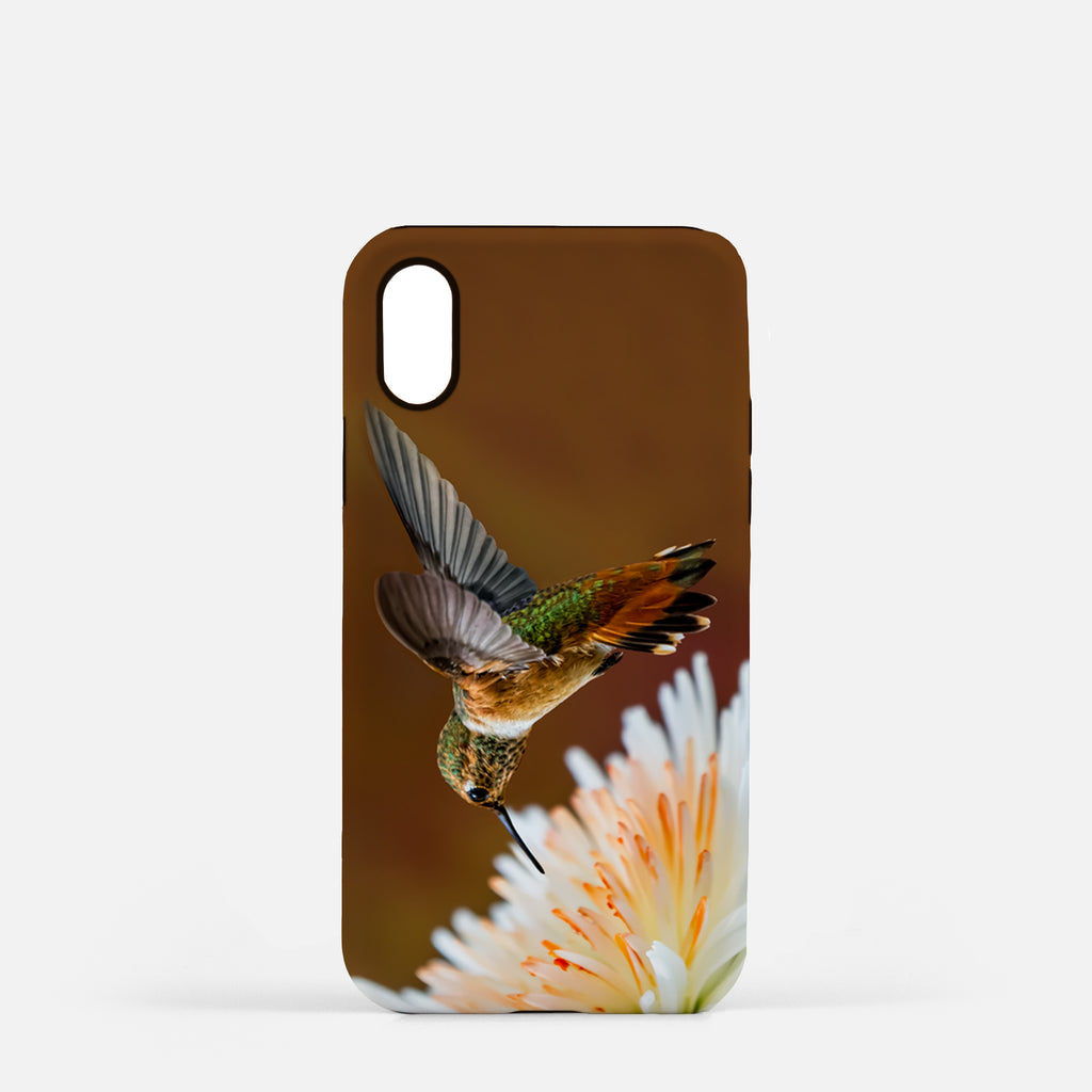 Dreamsicle photograph printed on an iPhone X case.