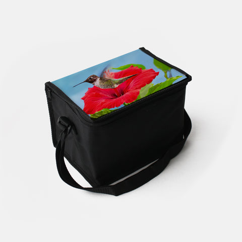 Fairy Wings photograph printed on a lunch box.