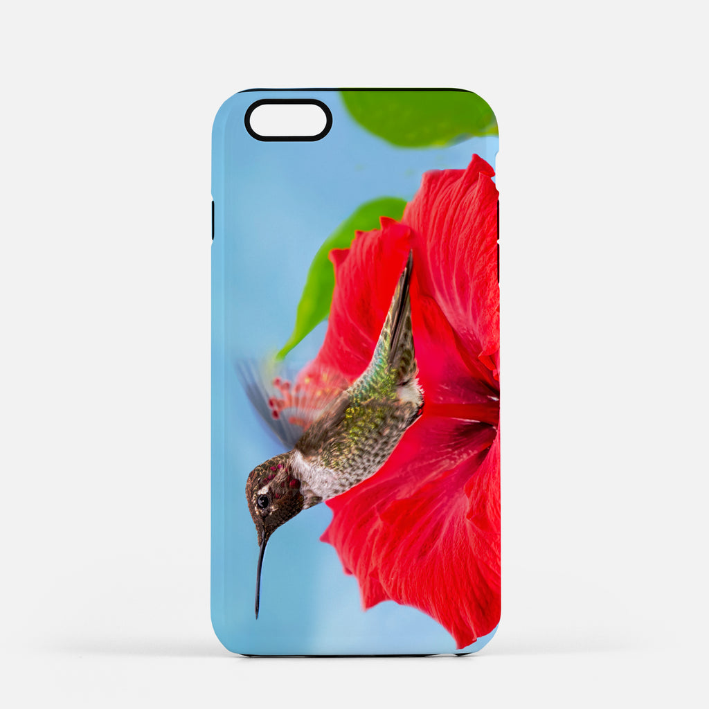 Fairy Wings photograph on an iPhone 8 Plus phone cover.