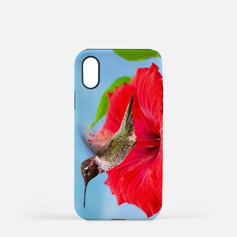 Fairy Wings photograph printed on an iPhone X case.