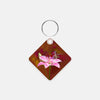 Image of Hummingbird Square Key Chain