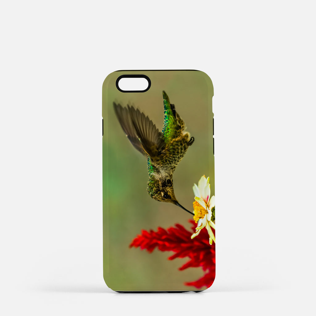 Green Goddess photograph on an iPhone 8 phone cover.