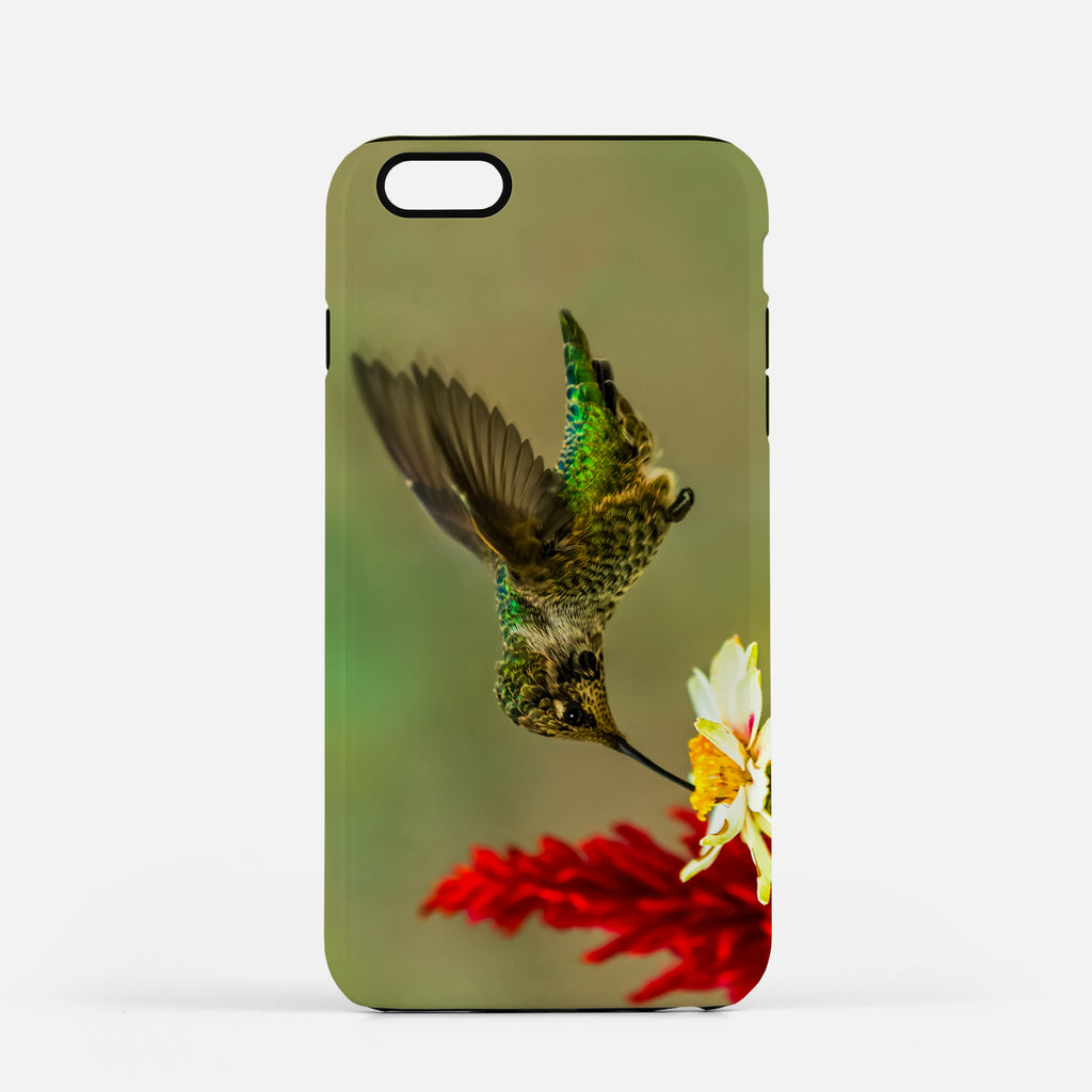 Green Goddess photograph on an iPhone 8 Plus phone cover.
