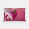 Image of Orchid Attraction 2 photograph printed on a lumbar pillow.
