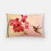 Image of Orchid Attraction 4 photograph printed on a lumbar pillow.