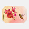 Image of Orchid Attraction 4 photograph printed on a place mat.
