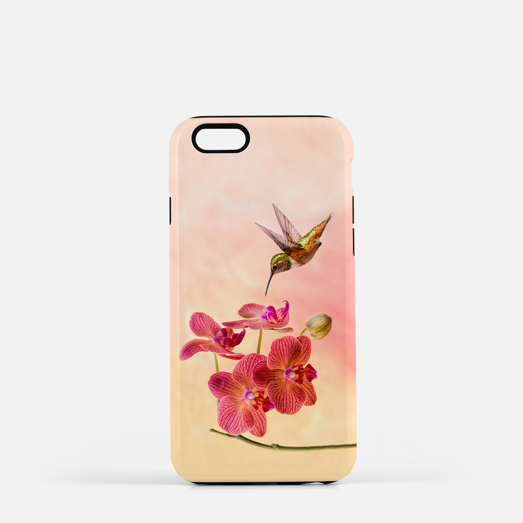 Orchid Attraction 4 photograph on an iPhone 6 Plus phone cover.