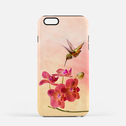 Orchid Attraction 4 photograph on an iPhone 8 Plus phone cover.
