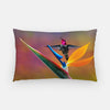 Image of Paradise Found photograph on a lumbar pillow.