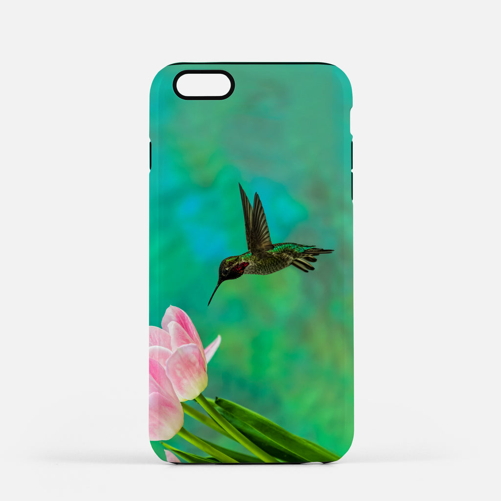 Time To Taste The Tulips photograph on an iPhone 8 Plus phone cover.