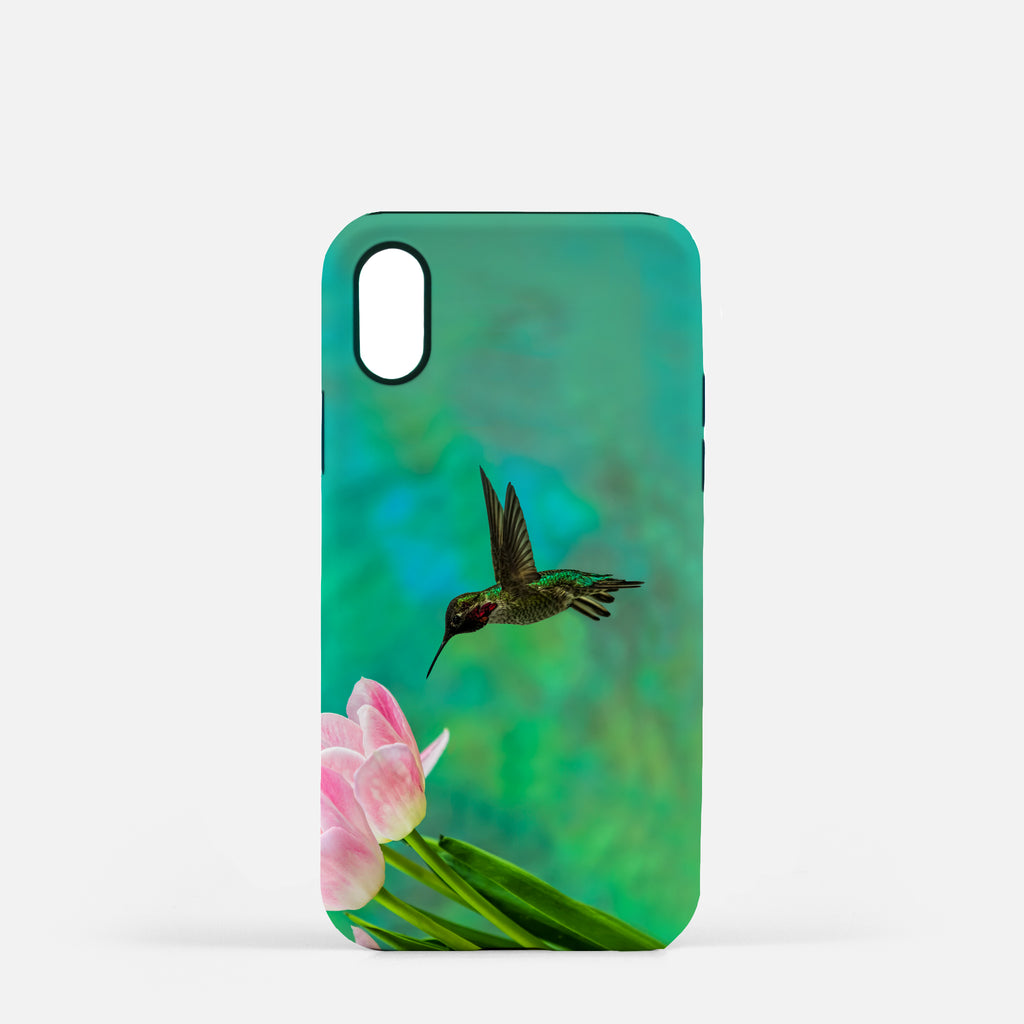 Time To Taste The Tulips photograph printed on an iPhone X case.