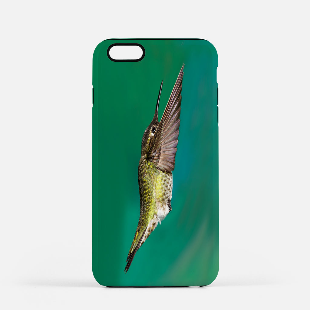 Top Gun photograph on an iPhone 8 Plus phone cover.