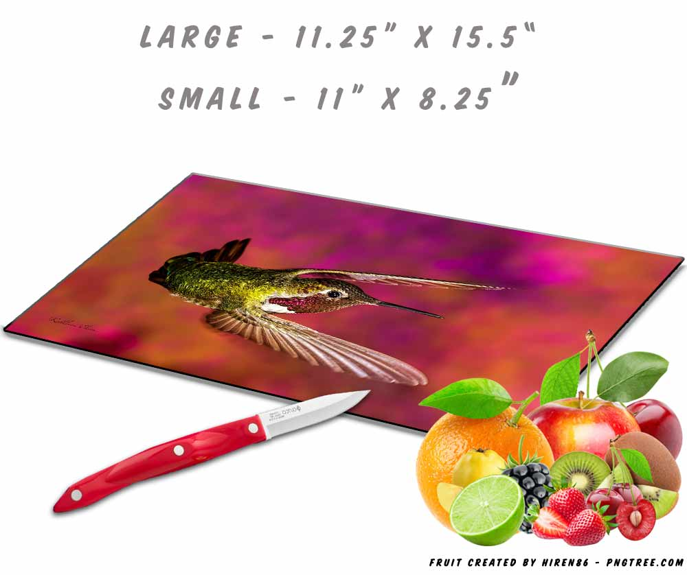 Hummingbird Cutting Board
