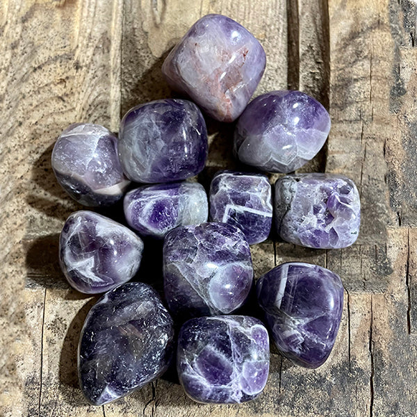 Bracelet / Amethyst and Lava / Essential Oil Diffuser