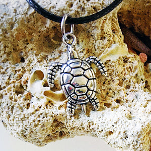 Sunstone / Turtle / Necklace