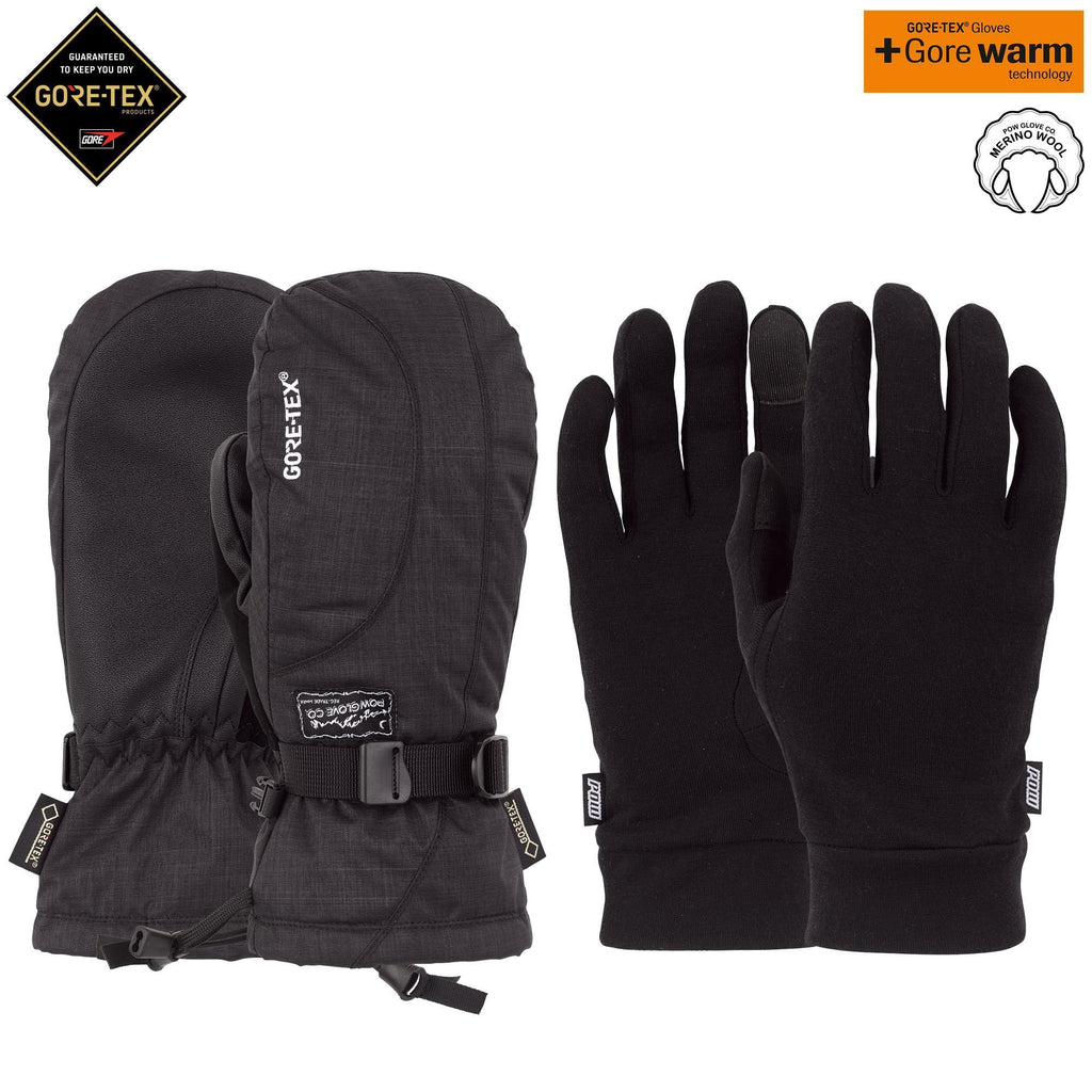 W'S CRESCENT GTX LONG MITT + WARM