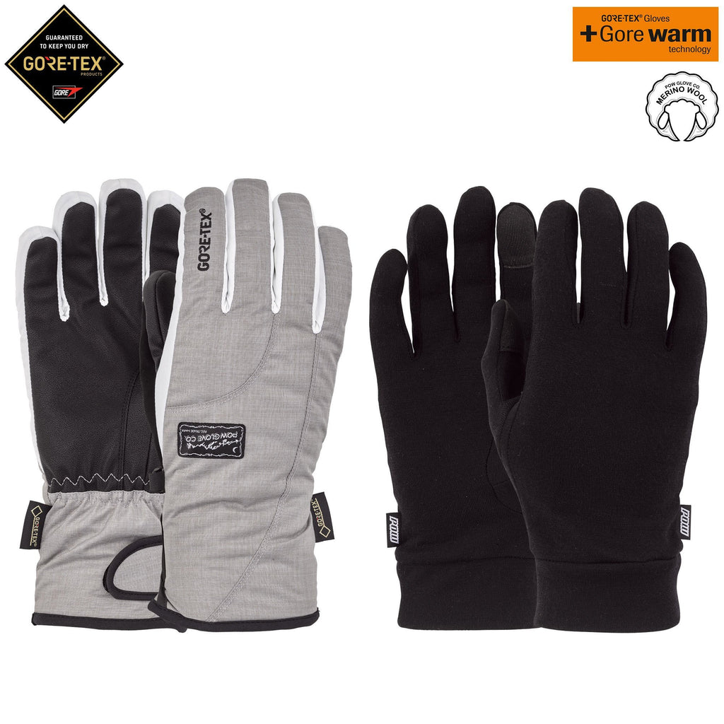 W'S CRESCENT GTX SHORT GLOVE + WARM