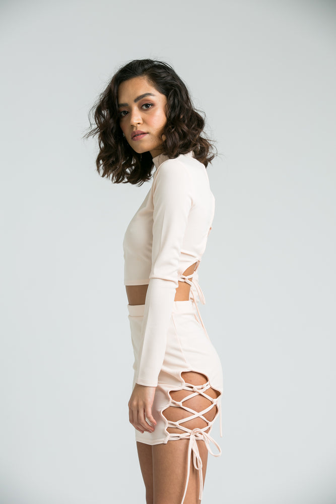 Natalia Nude Co-ord Set