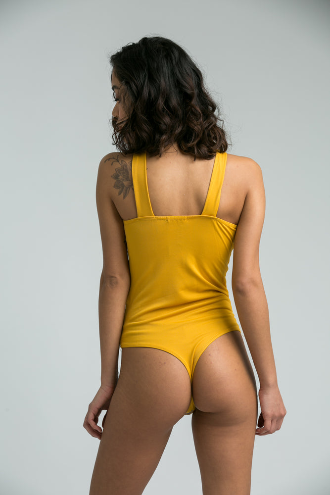 Alexa Mustard Body Suit