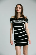 Becky Monochrome Dress